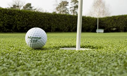 Césped sintético para campos de golf