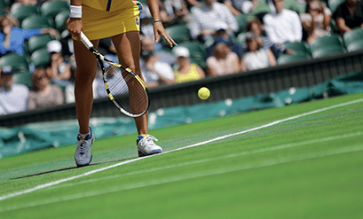 Césped sintético para campos de Tenis