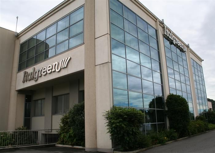 Sede de Italgreen, fabricante de césped artificial desde 1980