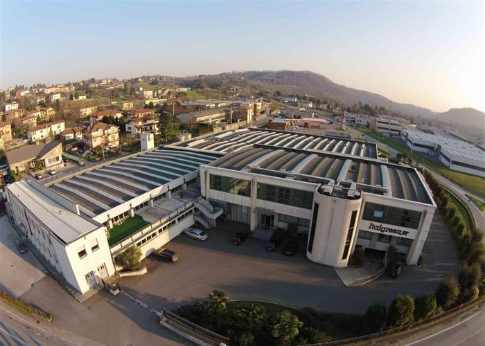Sede de Italgreen, un fabricante de césped artificial desde 1980